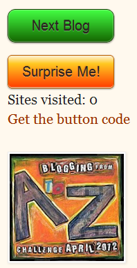 A-Z Challenge Navigation Buttons